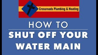 How To Shut Off Your Main Water Line In Case Of Emergency