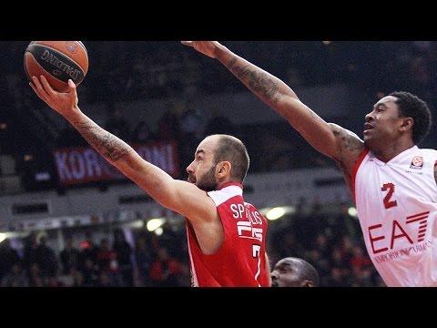Highlights: Olympiacos Piraeus-EA7 Emporio Armani Milan