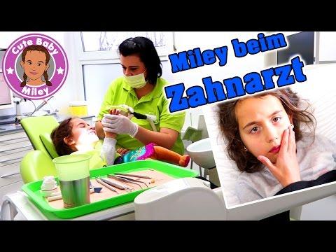 MILEYS UNFALL Zahn abgebrochen - Zahnarzt und Krank ! | CuteBabyMiley Kinderkanal