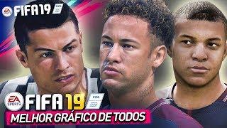 FIFA 19 MELHOR GRÁFICO DE TODOS - HOMENAGEM TODOS OS YOUTUBERS #RESPECT