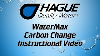 Replacing The Carbon In The WaterMax