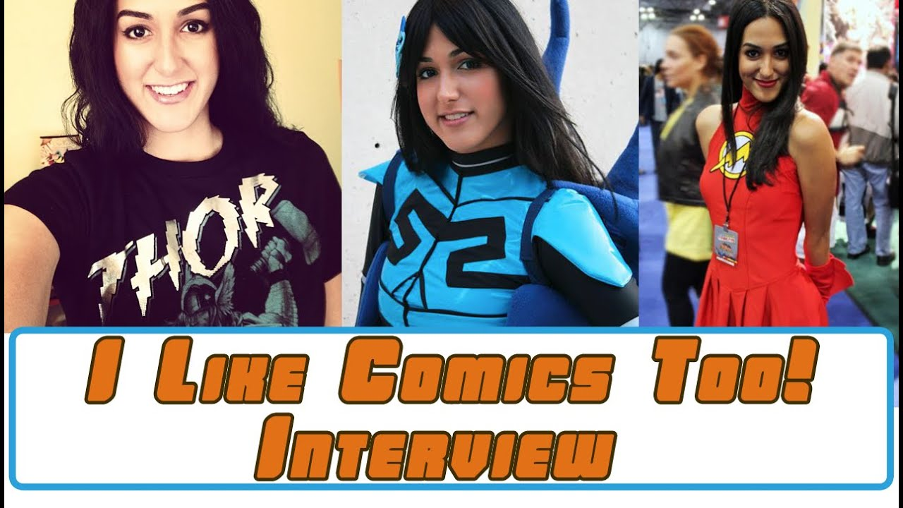 Comics and Cosplay Interview