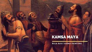Kamsa Maya by Raja Ravi Varma