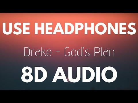 Drake - God's Plan (8D AUDIO)