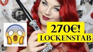 FIRST IMPRESSION + LIVE TEST! Golden Curl Lockenstab für 270€! High End Curler