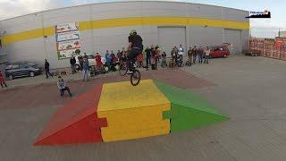 preview picture of video 'Braniewo:Zorganizowali zawody. Marzą o skateparku z prawdziwego zdarzenia'