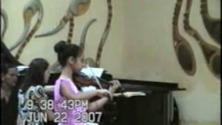 Ana Isabel Tejeda Concerto No 1 in G Dur of Zeist I Mov