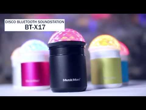 Technaxx Musicman Disco Bluetooth Soundstation BT-X17