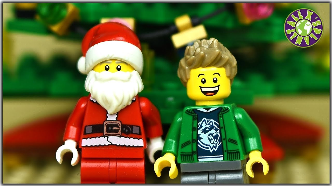 Lego Christmas. How Santa Claus saved Christmas.