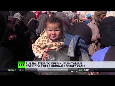 Russia, Syria to open 2 corridors for refugees 'stranded' in US-controlled area