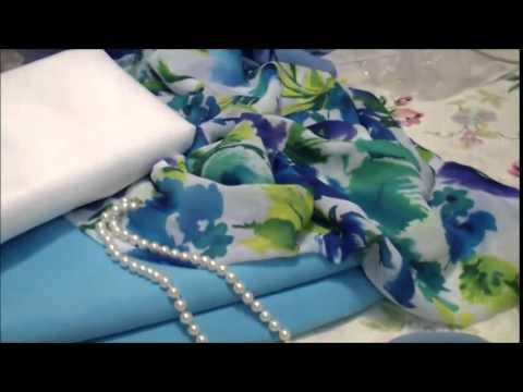 Как выбрать ткань и сшить платье для лета.