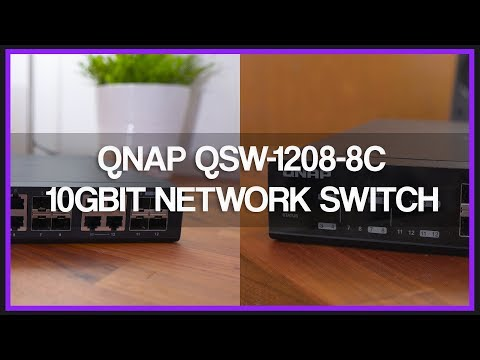 QNAP QSW-1208-8C 10Gbit Network Switch – Review