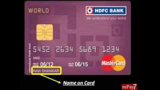 How to Make Online Credit/Debit Card Payment in India (English Audio)