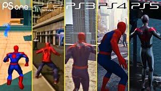 PS1 Vs PS2 Vs PS3 Vs PS4 Vs PS5 Gameplay Graphics Comparison