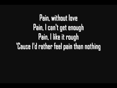 Three Days Grace - Pain [Lyrics] [HQ]