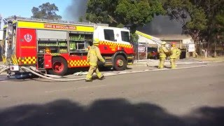 Wrecking Yard And Furniture Factory Fire Smithfield NSW 2164