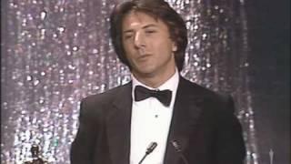 """Dustin Hoffman winning Best Actor for """"Kramer vs. Kramer"""""""
