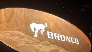 Ford announces return of Bronco, Ranger at NAIAS