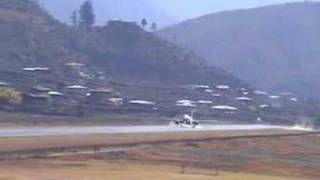 preview picture of video 'Paro International Airport'