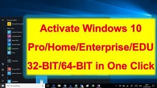 How to activate microsoft windows 10 pro without any software how to activate any windows 10 for free using activator script wi9ndows 10 ccuart Images
