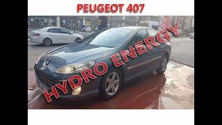 Peugeot 407 1.6 hdi hidrojen yakıt sistem montajı