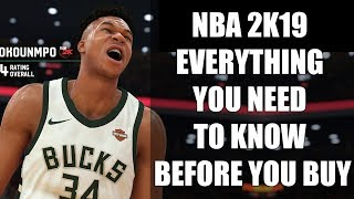 NBA 2K19 - EVERYTHING You Need To Know Before You Buy