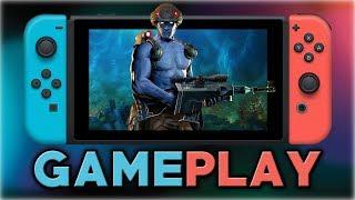 Primeiros 20 minutos de Rogue Trooper Redux para Switch