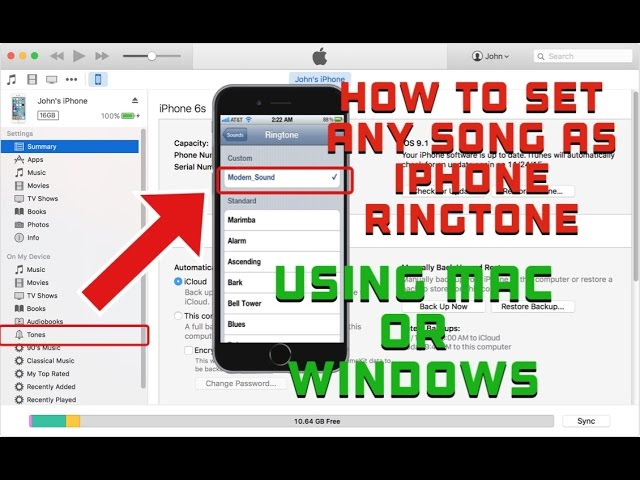 put ringtones on iphone how to set any song as iphone ringtone using 1359