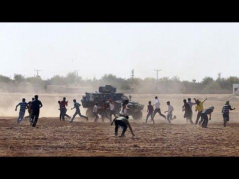 Syrie : la bataille de Kobané fait rage