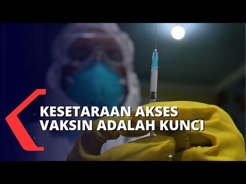 Kesetaraan Akses Vaksin Jadi Kunci Atasi Pandemi Covid-19 Secara Global