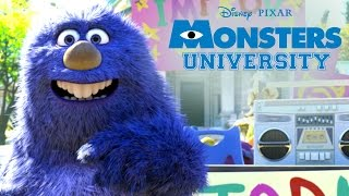 Monthropology | Monsters U | Disney Pixar