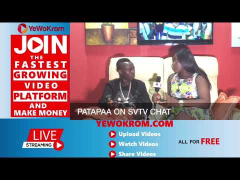 "Video: Patapaa calls for the legalization of ""weed"