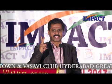 Life Story | Mallikharjun Rao |TELUGU IMPACT Hyd Apr 2017