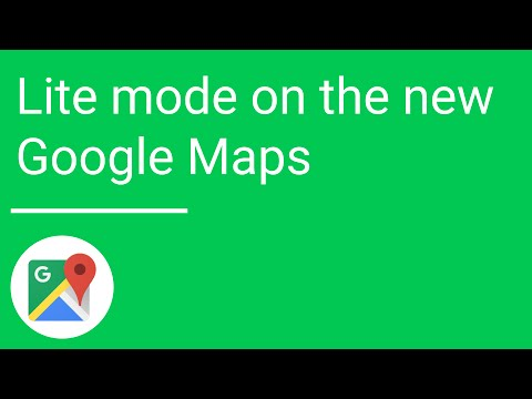"Use Google Maps' ""Lite Mode"" To Solve Graphical Problems"