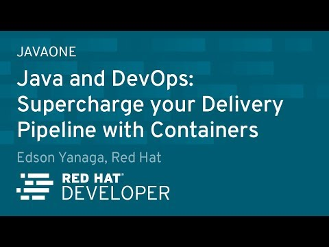 Java and DevOps: supercharge your delivery pipeline with Containers!
