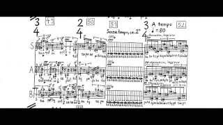 György Ligeti - Nouvelles Aventures w/ score (for 3 singers and 7 instruments)(1962/1965)