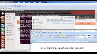 Set Up Xilinx Zynq Linux Compile Environment