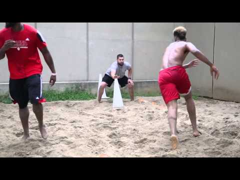 Summer Workouts | Sand Pit