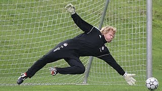 Oliver Kahn beim Tormann-Training