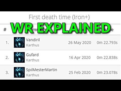 WORLD'S FASTEST RANKED DEATH EXPLAINED! - League of Legends Record