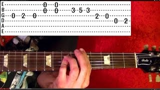 Love Me Two Times - THE DOORS - Guitar Lesson ✅✅🎵