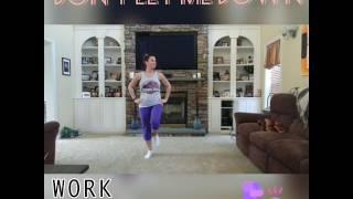 Don't Let Me Down Zumba Leg Cardio Routine