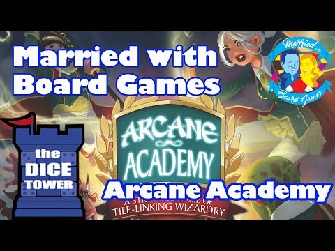 Arcane Academy Review with Married with Board Games