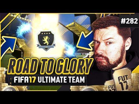 CALCIO A TOTS ELITE FUT CHAMPS REWARDS!! - #FIFA17 Road to Glory! #282 Ultimate Team