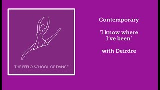 Contemporary 'I know where I've been' with Deirdre