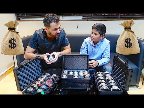 Dubai Billionaire Shopping for Worlds Most Expensive Watches !!!
