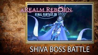 Epic Boss Battle Shiva Hard Mode - Final Fantasy XIV