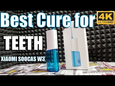 XIAOMI SOOCAS W3 electric oral irrigator Best cure for paradontis & bad breath