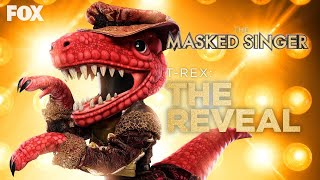 T-Rex All Performances and Reveal | The Masked Singer (Season 3)