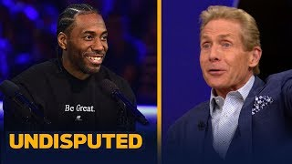 Skip Bayless recalls meeting Kawhi's Uncle Dennis at the Pacquiao-Thurman fight | UNDISPUTED